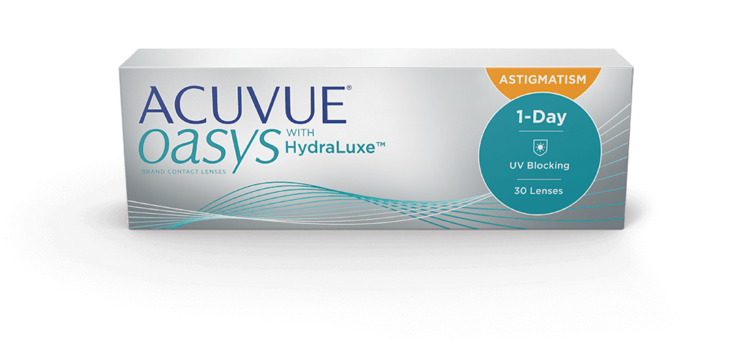 ACUVUE OASYS 1-DAY  with HYDRALUXE TECNOLOGY