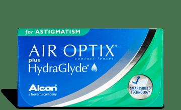 AIR OPTIX plus HYDRAGLYDE FOR ASTGMATISM